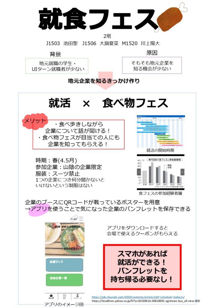 高専生が考える「地元企業の魅力発信PRアイデア」!~松江高専グループ創造工学発表会~