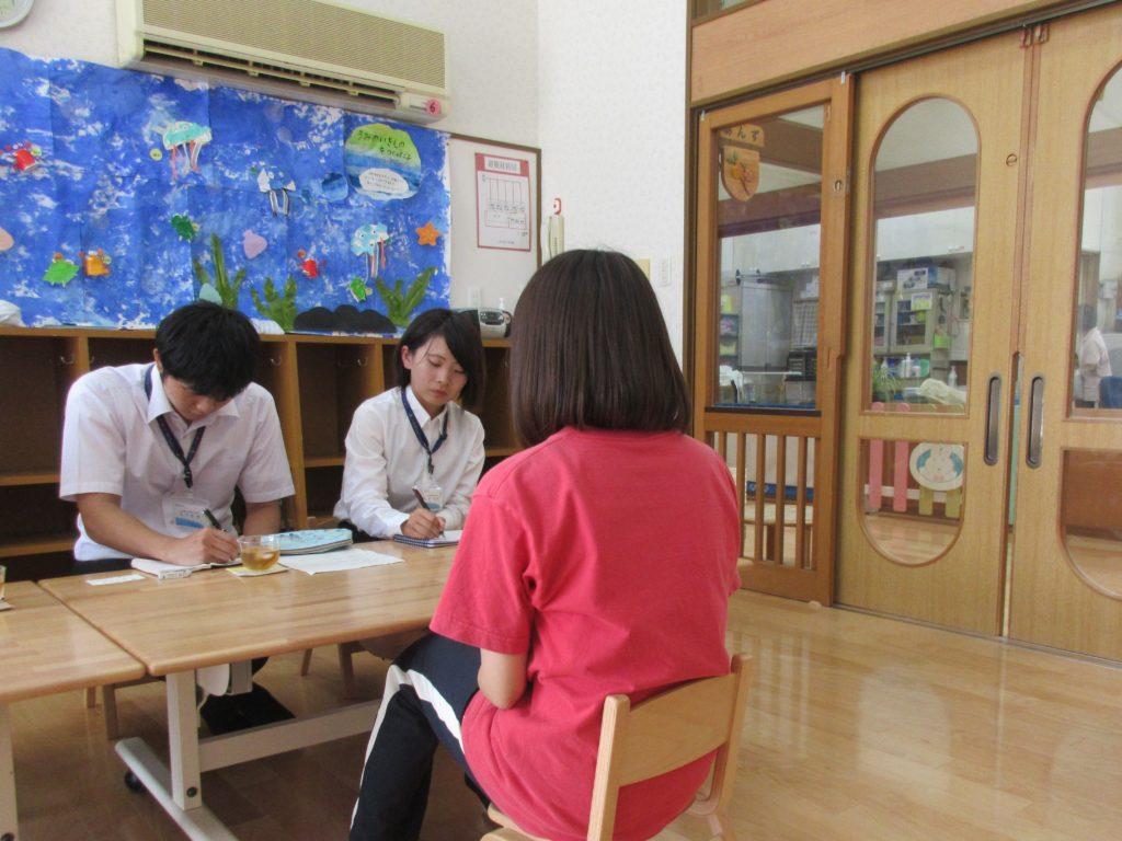 みずうみ保育園 鳥居さんにインタビューに行ってきました!
