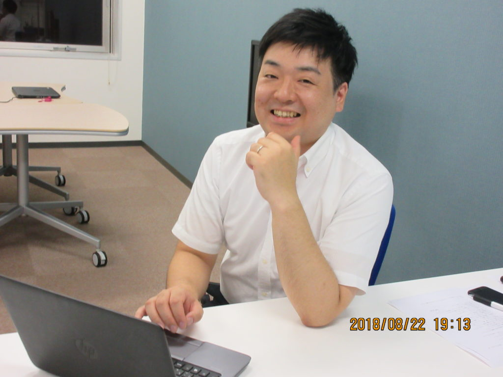 八雲ソフトウェア 渡部さんにインタビューに行ってきました!